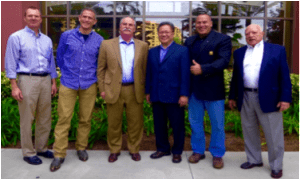 Tecport and Axon leaders- Dr. Steve Blair, Dr, Bradley Katz, Rich Sholtz, RPh., Esq., Tam Le, Dr. Nabil El-Hag, and Frank Helmes
